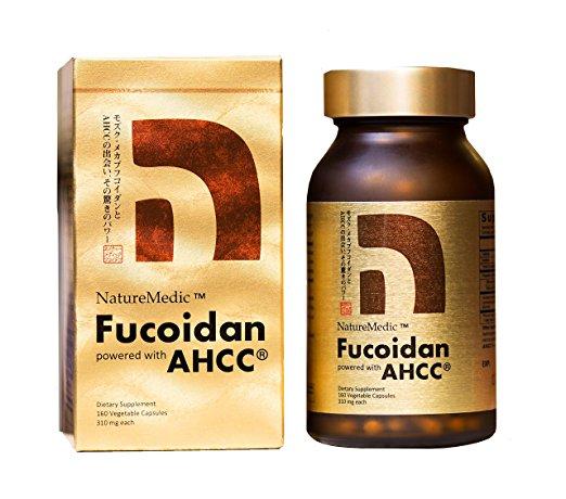 Focoidan AHCC NatureMedic 160 capsules