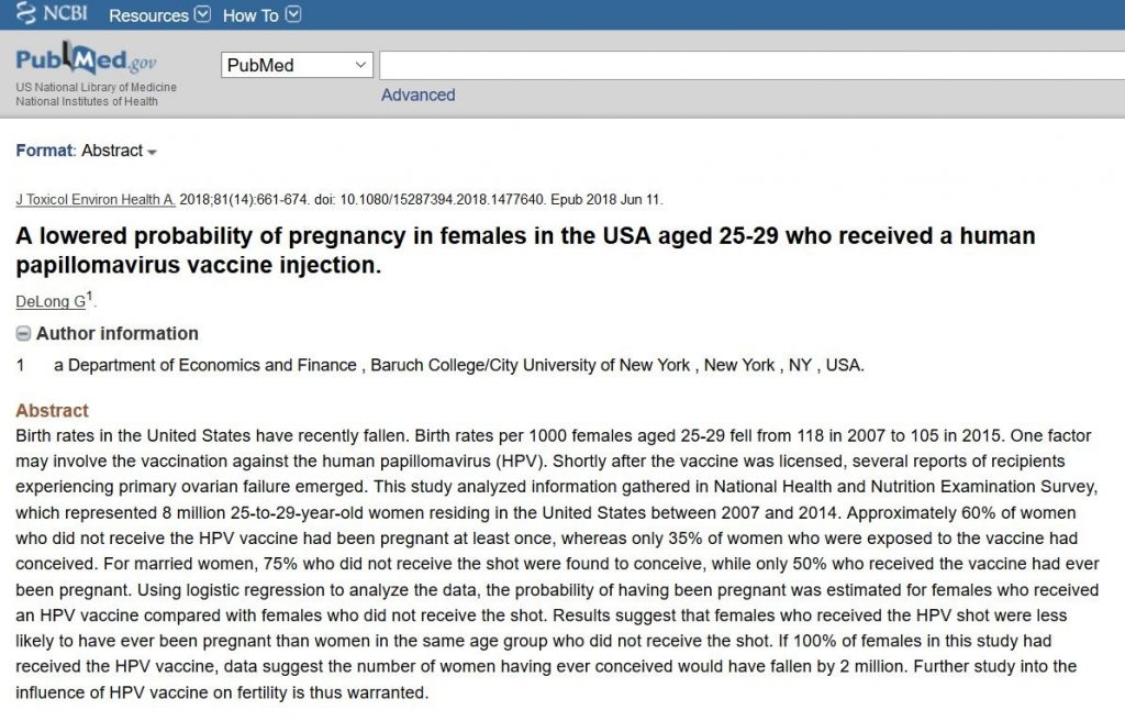 Can HPV Cause Infertility in Males and Females? Studies ... Hpv Vaccine Causes Sterility