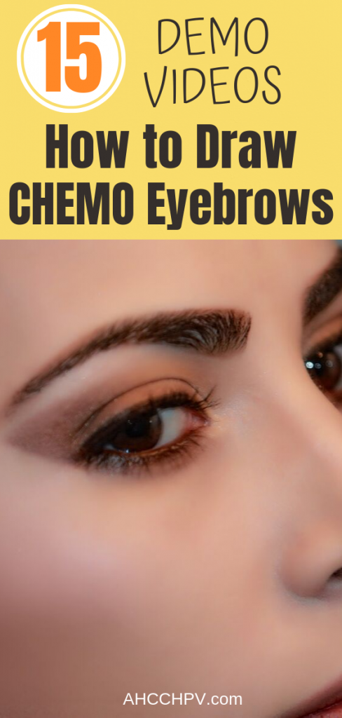 Chemo Eyebrows How To Draw